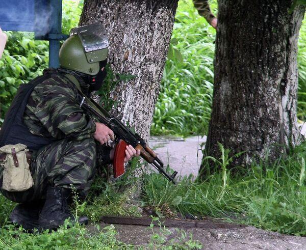 Спецоперация по задержанию группы боевиков в Нальчике - Sputnik Таджикистан
