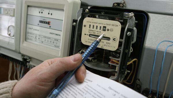 Счетчики электроэнергии, архивное фото - Sputnik Таджикистан