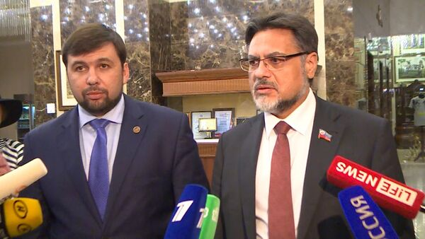 Снова Украина дала стоп - полпред ЛНР о соглашении по отводу вооружения - Sputnik Таджикистан