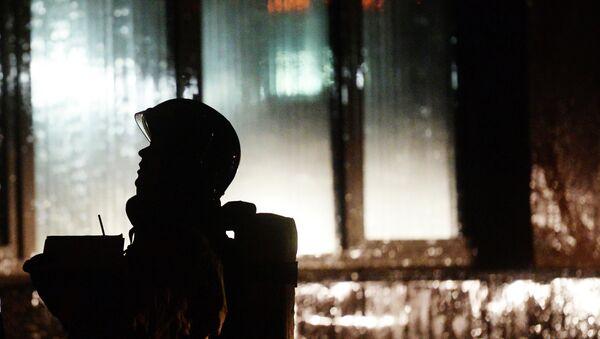 Сӯхтор дар ПИТ (НИИ)-и  шаҳри Маскав бартараф шуд. Акс аз бойгонӣ - Sputnik Тоҷикистон