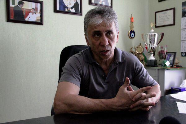 Мирсаид Яхяев, глава Федерации таэквон-до и кикбоксинга Таджикистана - Sputnik Таджикистан