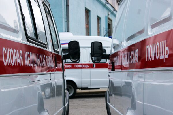 Автомобили скорой помощи. Архивное фото - Sputnik Таджикистан