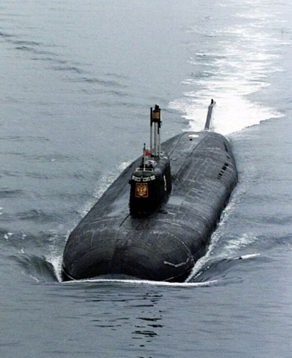 Подводная лодка Курск. Архивное фото. - Sputnik Таджикистан