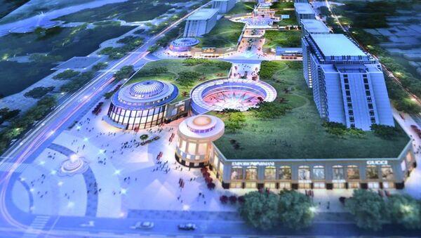 Фрагмент проекта центральной части Худжанда - Sputnik Таджикистан