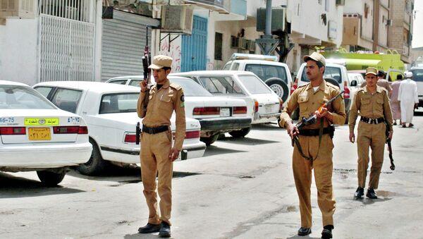 Полицейские Саудовской Аравии. Архивное фото - Sputnik Таджикистан