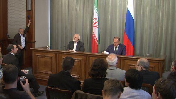 Лавров и Зариф обозначили позиции России и Ирана по кризису в Сирии - Sputnik Таджикистан