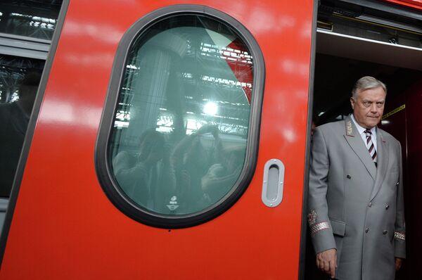 Президент ОАО РЖД Владимир Якунин. Архивное фото - Sputnik Таджикистан