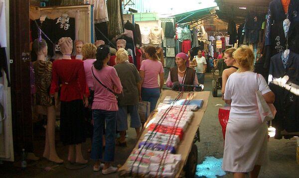 Рынок Дордой. Архивное фото - Sputnik Таджикистан