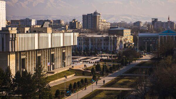 Вид на Бишкек, архивное фото - Sputnik Таджикистан