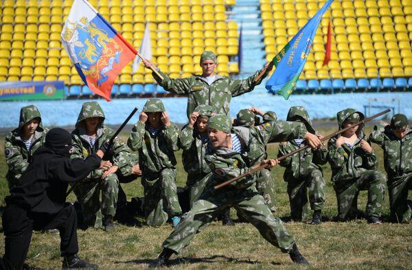 Совместные учения Коллективных сил оперативного реагирования ОДКБ Взаимодействие-2015 - Sputnik Таджикистан