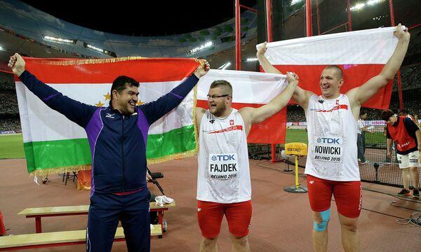 Дильшод Назаров завоевал серебро чемпионата мира - Sputnik Таджикистан