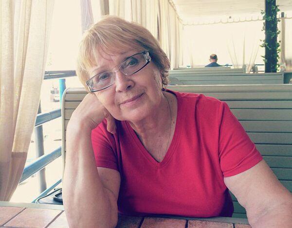 Галина Гриднева. Архивное фото - Sputnik Таджикистан