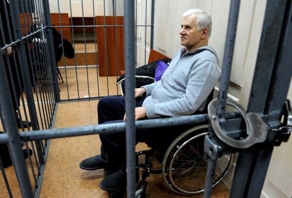 Саид Амиров время заседания суда о продлении срока его ареста. Архивное фото - Sputnik Таджикистан