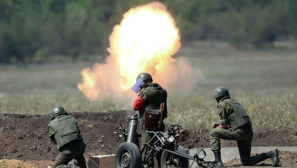 Соревнования артиллеристов. Архивное фото - Sputnik Таджикистан