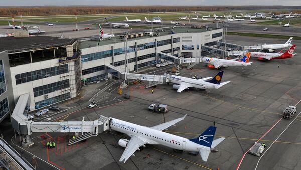 Самолеты на стоянке в аэропорту Домодедово. Архивное фото - Sputnik Таджикистан