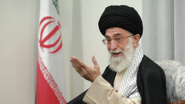 Духовный лидер Ирана аятолла Сейед Али Хаменеи - Sputnik Тоҷикистон