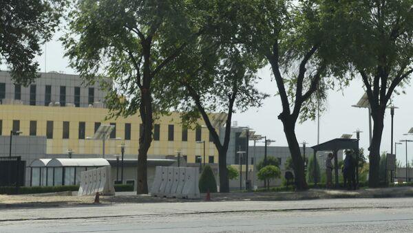 Здание посольства США в Душанбе, архивное фото - Sputnik Тоҷикистон