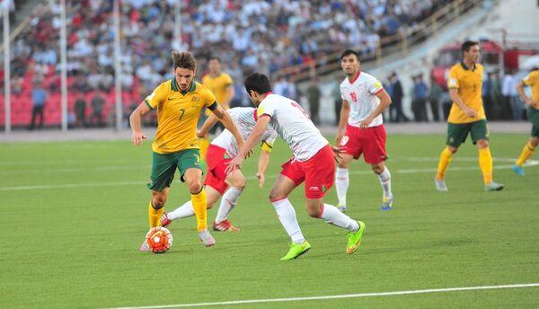 Австралия победила Таджикистан со счетом 3:0 - Sputnik Таджикистан