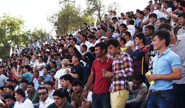 Болельщики на матче Таджикистан-Австралия - Sputnik Таджикистан