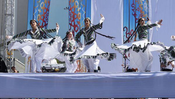 Праздничные мероприятия в Душанбе по случаю 24-ой годовщины независимости Таджикистана - Sputnik Тоҷикистон