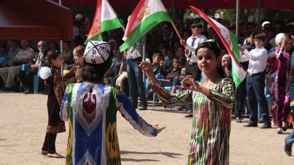 Праздничные мероприятия в Душанбе по случаю 24-ой годовщины независимости Таджикистана - Sputnik Таджикистан