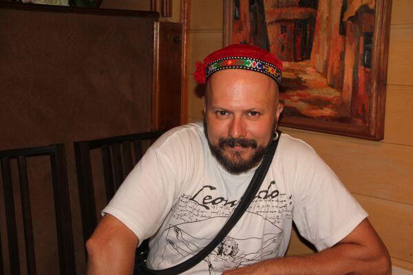 Дмитрий Евсиков, лидер группы Baraka - Sputnik Таджикистан