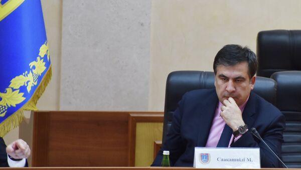 Губернатор Одесской области Михаил Саакашвили. Архивное фото - Sputnik Таджикистан