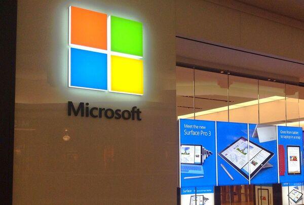 Логотип компании Microsoft - Sputnik Таджикистан
