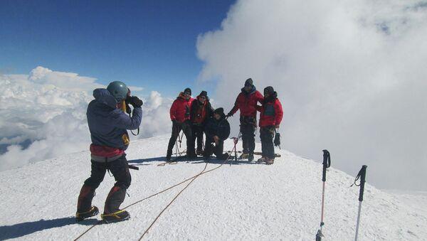 Группа альпинистов, архивное фото - Sputnik Таджикистан