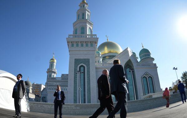 Открытие после реставрации главной мечети Москвы - Sputnik Таджикистан