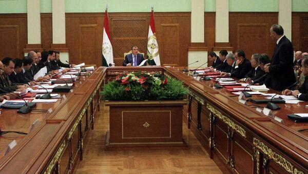 Заседание правительства республики Таджикистан. Архивное фото - Sputnik Таджикистан