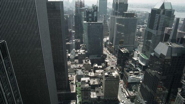 Вид на город Нью-Йорк. Архивное фото. - Sputnik Таджикистан