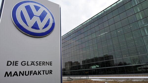 Завод Volkswagen в Дрездене - Sputnik Таджикистан