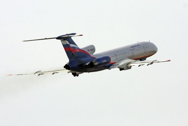 Самолет Ту-154м авиакомпании Аэрофлот - Sputnik Таджикистан