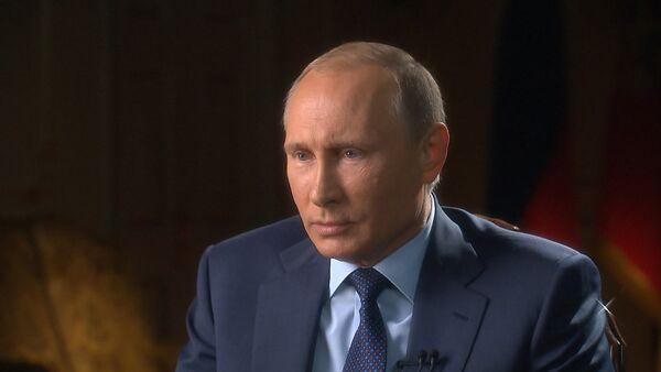 Интервью Путина каналам CBS и PBS: РФ в Сирии  и роль США в кризисе на Украине - Sputnik Таджикистан