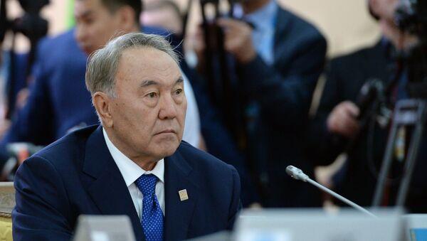 Нурсултан Назарбаев. Архивное фото. - Sputnik Таджикистан