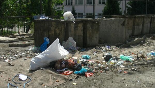 В Душанбе установили видеокамеры для наблюдения за мусорными контейнерами - Sputnik Таджикистан