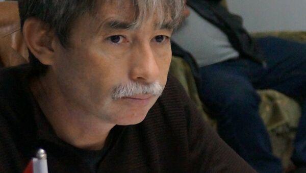 Эколог Алихон Латифи, архивное фото - Sputnik Таджикистан
