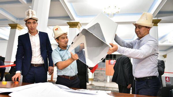 Парламентские выборы в Киргизии - Sputnik Таджикистан