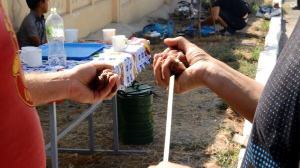 В 201 РВБ прошел конкурс на лучший шашлык - Sputnik Таджикистан