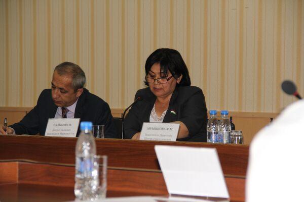 Депутат Маджлиси намояндагон Насиба Содикова - Sputnik Таджикистан