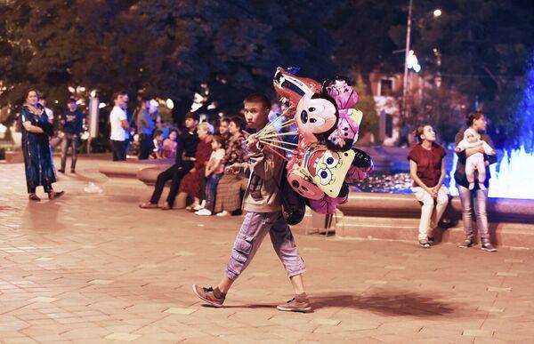 Ночная жизнь Душанбе - Sputnik Таджикистан
