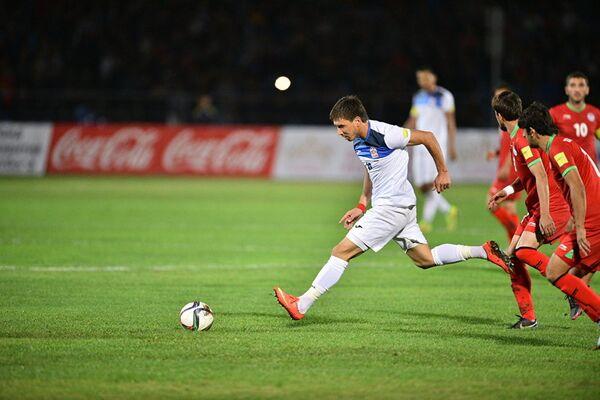 Футбольная баталия Кыргызстан – Таджикистан - Sputnik Таджикистан