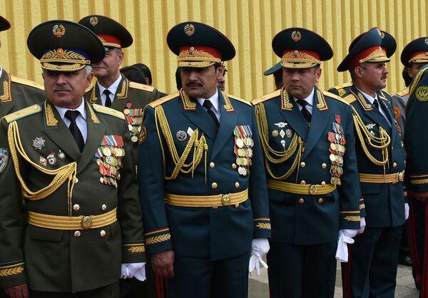 Работники таджикских силовых структур. Архивное фото - Sputnik Таджикистан