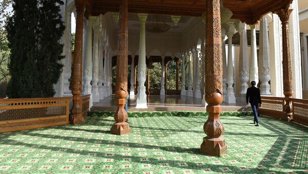 Ботанический сад Академии наук Таджикистана (Боги Ирам) - Sputnik Таджикистан