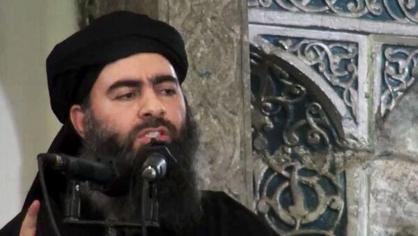 Абу Бакр Аль-Багдади. Архивное фото. - Sputnik Таджикистан