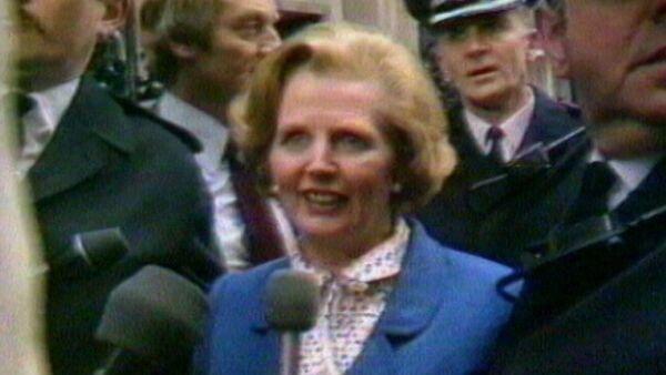 Железная леди Британской политики. Маргарет Тэтчер в архивных кадрах - Sputnik Таджикистан