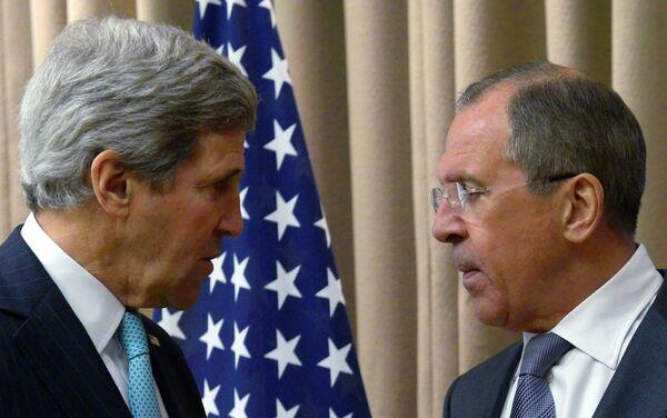 Встреча С.Лаврова и Д.Керри в Женеве - Sputnik Таджикистан