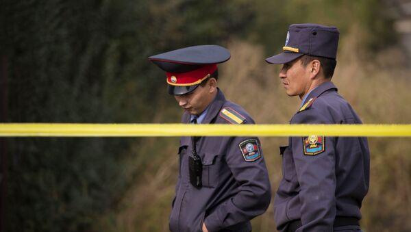 Операция правоохранительных органов Кыргызстана в Бишкеке - Sputnik Тоҷикистон