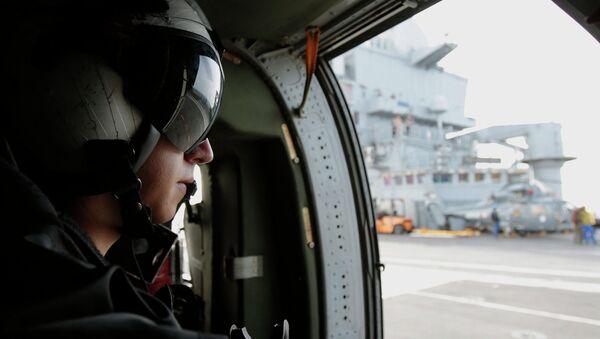 Пилот ВВС США. Архивное фото - Sputnik Таджикистан